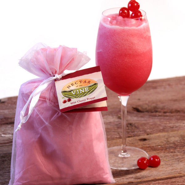 Nectar Of The Vine - Wild Cherry Wine Slushy Mix - Simple Pleasures ~ Bountiful Treasures