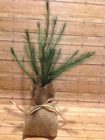"12"" Feather Tree - Simple Pleasures ~ Bountiful Treasures"