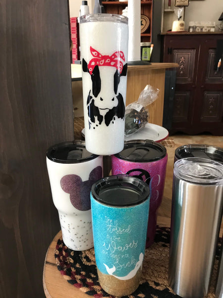 Pizza and a Project Custom Tumbler - Simple Pleasures ~ Bountiful Treasures