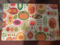 Cutting Board Fall - Simple Pleasures ~ Bountiful Treasures