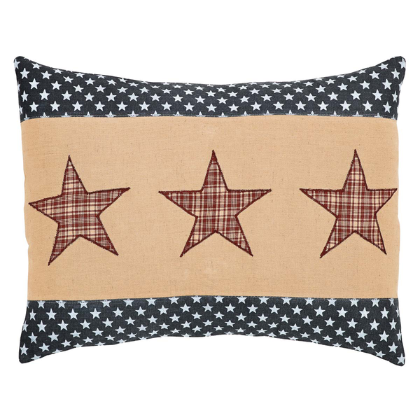 Independence Star Pillow - Simple Pleasures ~ Bountiful Treasures