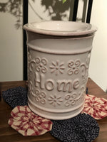 Cream Home Electric Warmer - Simple Pleasures ~ Bountiful Treasures