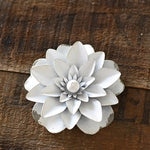 Magnetic Tin Flowers - Simple Pleasures ~ Bountiful Treasures