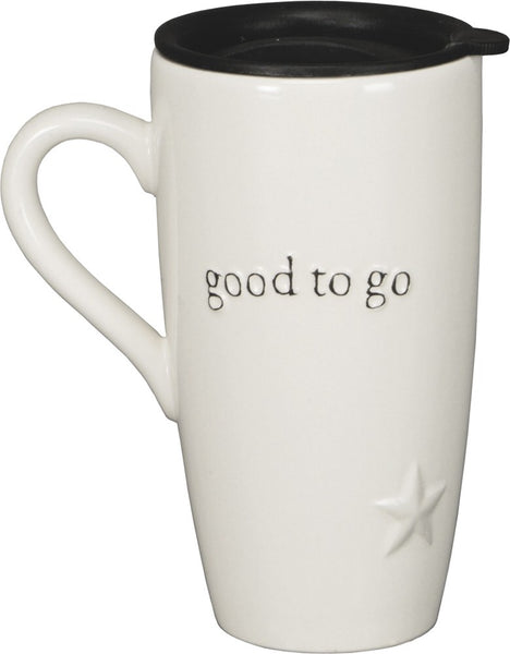 Travel Mug Good to Go - Simple Pleasures ~ Bountiful Treasures