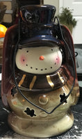 Stoneware Snowman - Simple Pleasures ~ Bountiful Treasures