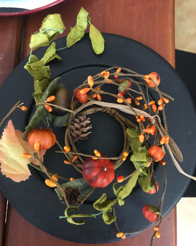 Autumn Pod and Berries Ring - Simple Pleasures ~ Bountiful Treasures