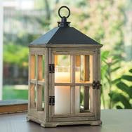 Driftwood Wooden Lantern Candle Warmer - Simple Pleasures ~ Bountiful Treasures