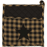 Square Star Pot Holder - Simple Pleasures ~ Bountiful Treasures