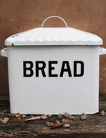 Enamelware Breadbox - Simple Pleasures ~ Bountiful Treasures