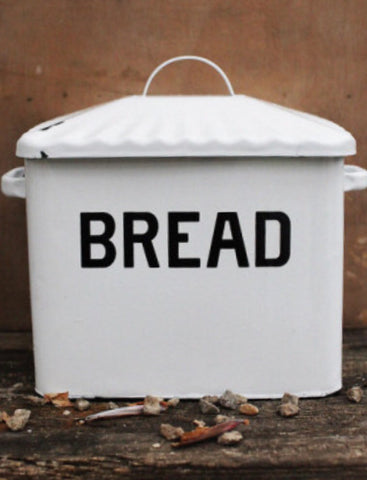 Enamel Breadbox
