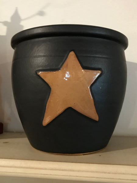 Black Crock with Mustard Star