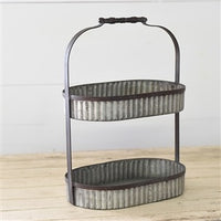 Industrial Oval Double Riser - Simple Pleasures ~ Bountiful Treasures
