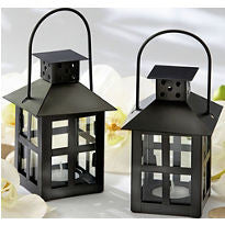 Mini hanging lantern w tea lite