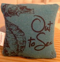 Out To Sea Mini  Pillow