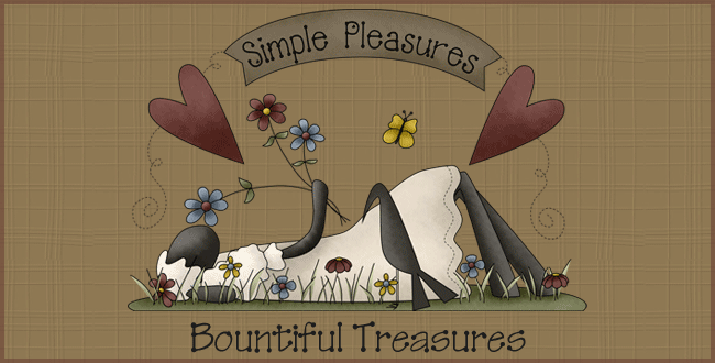 Simple Pleasures ~ Bountiful Treasures