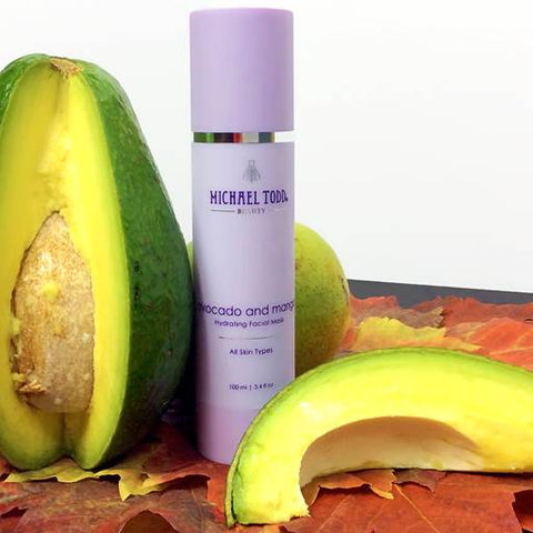 Fall Skincare Tips With Michael Todd Beauty Avocado and Mango