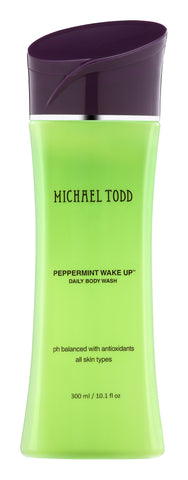 Peppermint Wake Up Energizing Daily Body Wash By Michael Todd Beauty