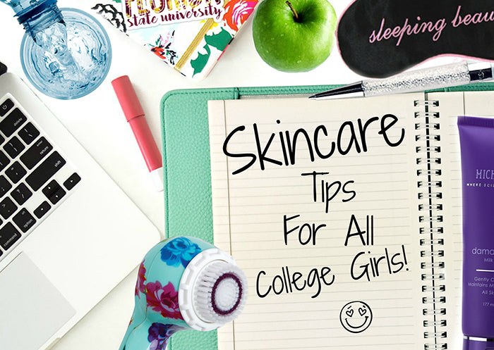 Michael Todd Beauty Skincare Tips For All College Girls