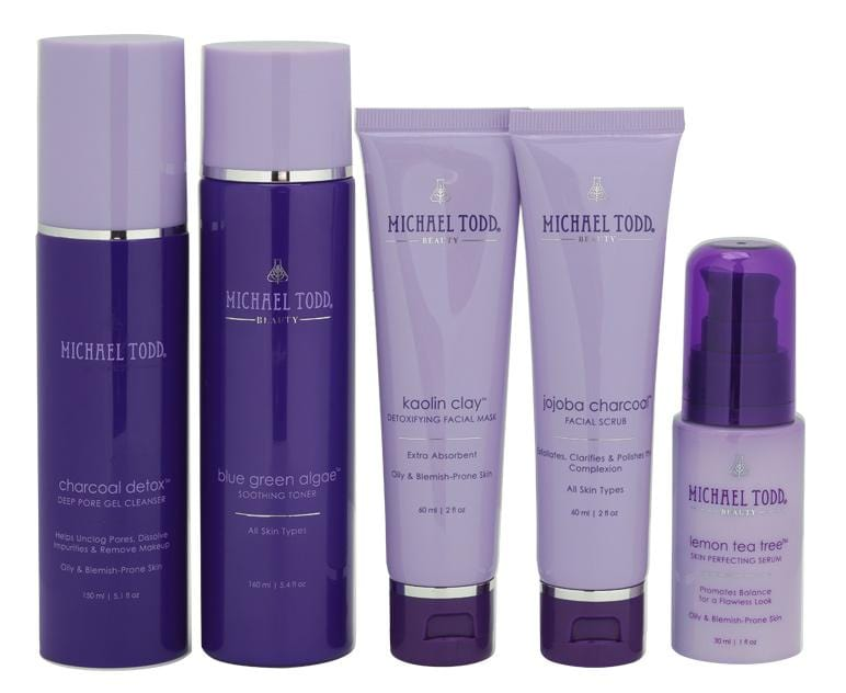 Michael Todd Beauty Oily & Blemish Prone Skin Regimen