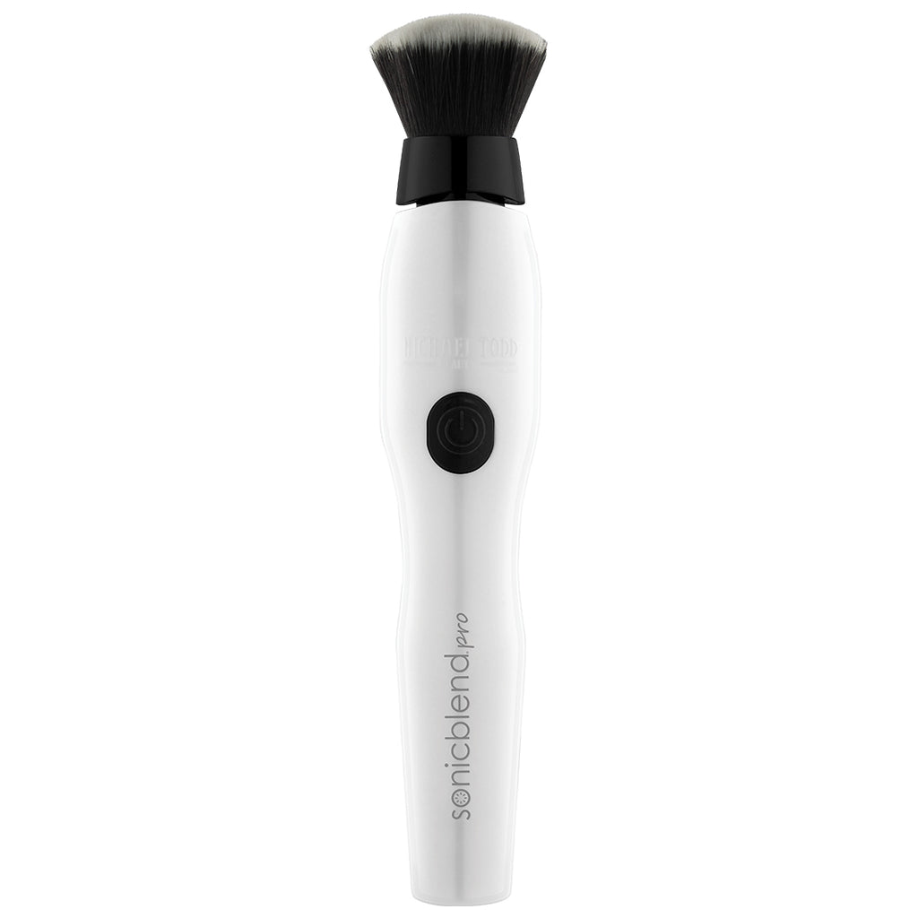 White Sonicblend Pro Sonic Makeup Application Brush