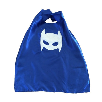 Pow - Superhero Tee and Cape Combo - Blue - LocalWe