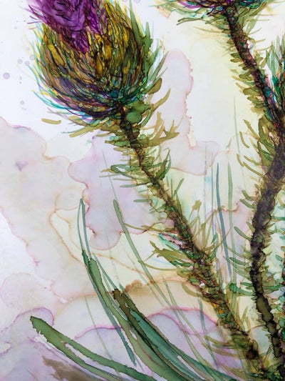 Three Thistles - Greeting Cards