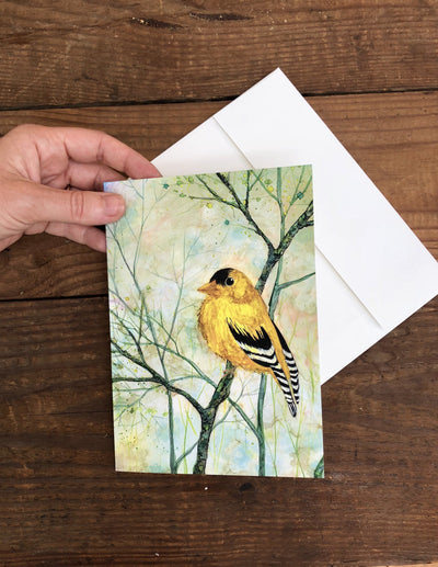 Goldfinch - Greeting Cards