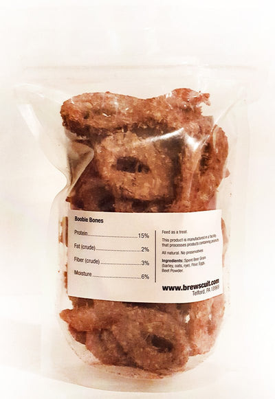 Brewscuit - Boobie Bones - Beer Grain Dog Treats