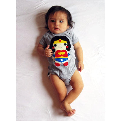 Wonder Girl - Super Hero - Baby Onesie