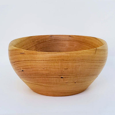 Cherry Wood Ice Cream Bowl