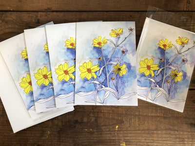 Pretty Little Weeds - Greeting Cards