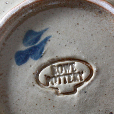 Family Hand Painted Pottery Spoon Rest