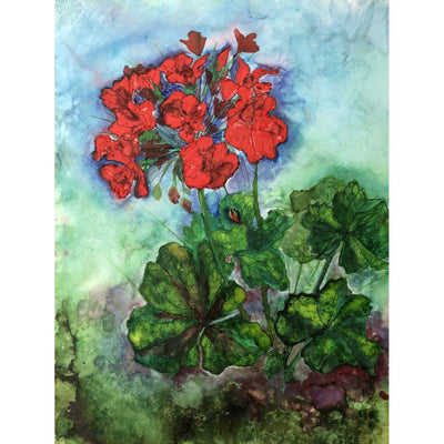 Geraniums - Greeting Cards - LocalWe