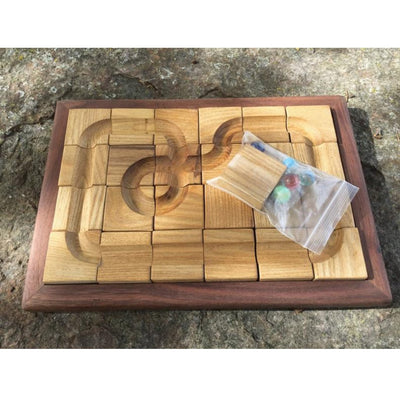 Handmade Wooden Toy - Marble Maze Kids' Toy, Shop Local AR | LocalWe