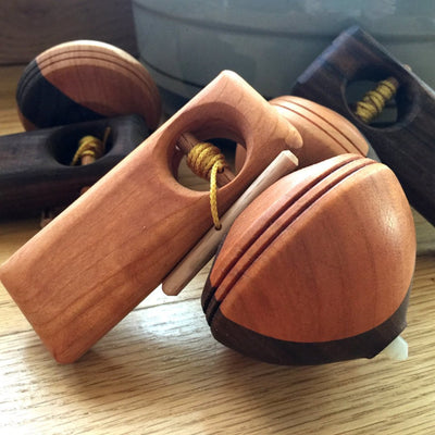 Handmade Wooden Toy - Spinning Top Kids' Toy - Shop Local AR | LocalWe