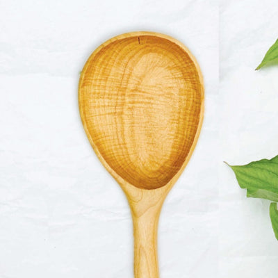 Handmade Medium Wood Serving/Stirring Spoon - LocalWe