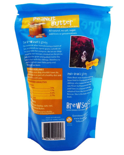 Brewscuit - Half Pint - Beer Grain Dog Treats