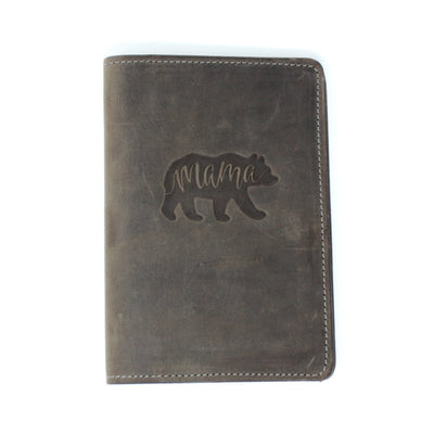 Handcrafted Leather Journal - Mama Bear