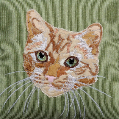 Custom Pet Pillow Fabric Portrait