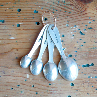 Pewter Measuring Spoons - LocalWe