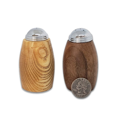 Artisan Wood Salt and Pepper Shakers - LocalWe