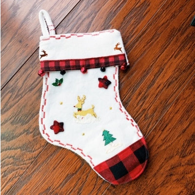 Scented Plaid Stockings
