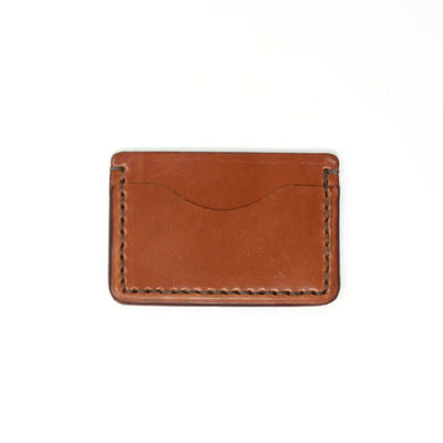 Handcrafted Leather Wallet in Brown, Slim design for Front Pocket, Made in AZ | LocalWe