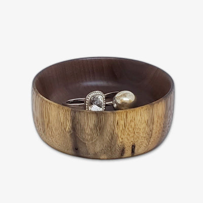 Black Walnut Jewelry Bowl
