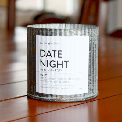 Wood Wick Soy Candle - Date Night - LocalWe