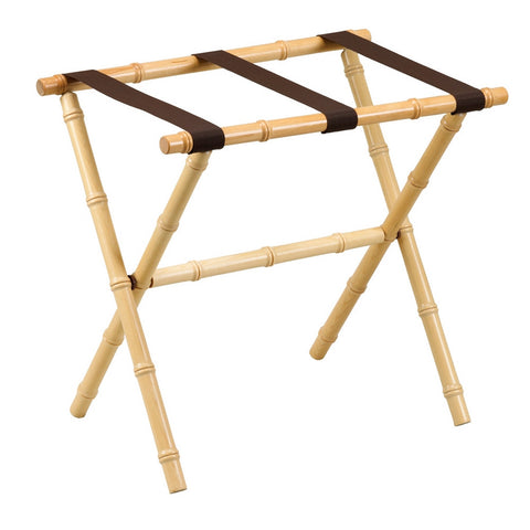 Natural Bamboo Luggage Rack