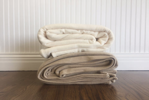 Snowstorm Fleece Blanket by Standard Textile