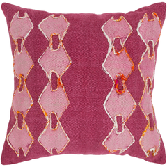 Eila Pillow Cover in Pink