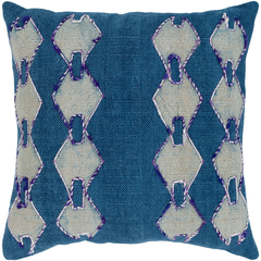 Eila Pillow Cover in Blue