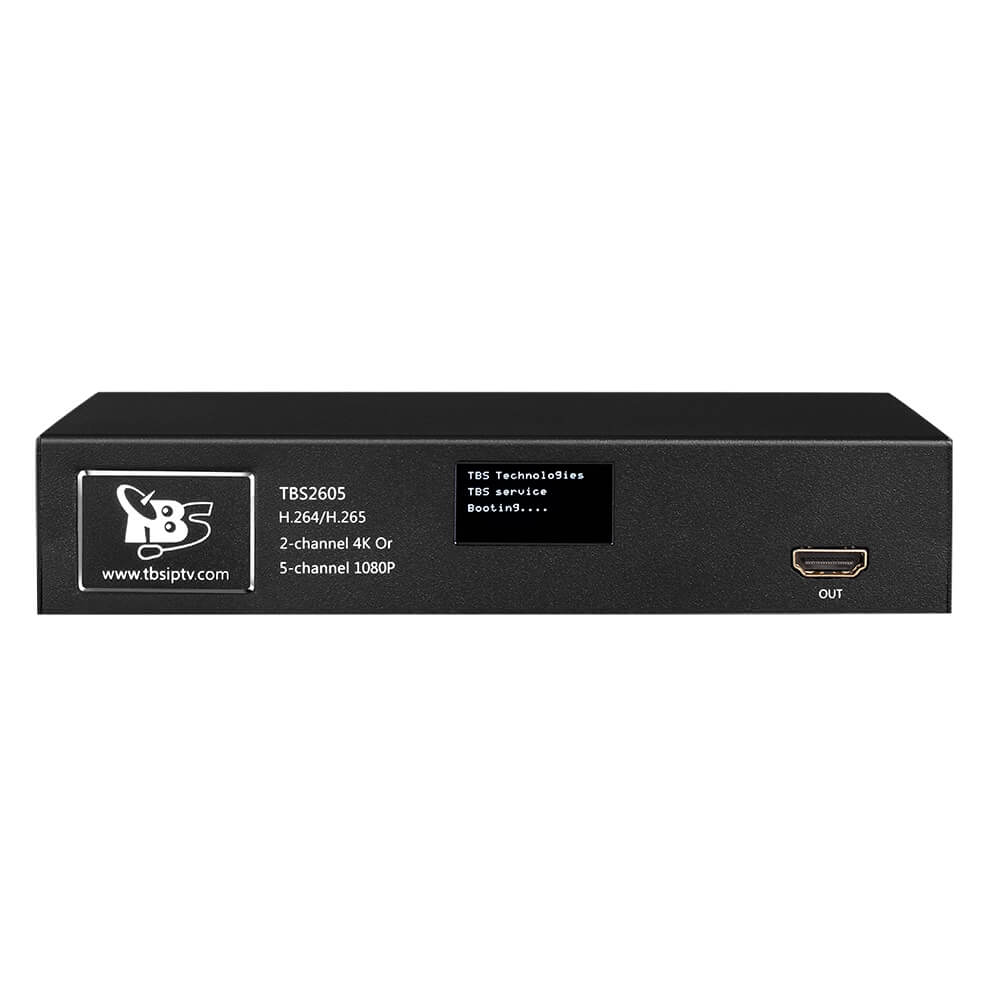 TBS2605 2 channel 4K or 5 Channel 1080P 60hz HDMI Video Encoder